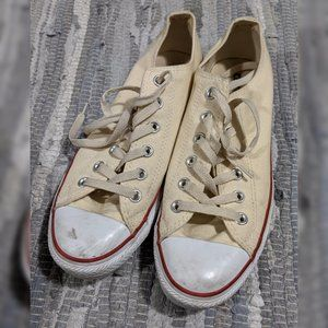 Natural white Converse low